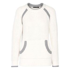 Rag & Bone Camille Sweater Chunky Heavy XS Ivory